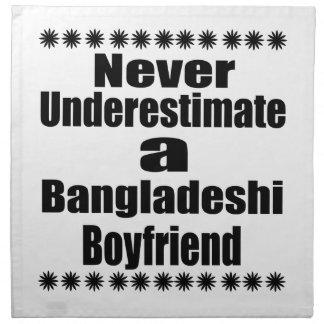 Never Underestimate A Bangladeshi Boyfriend Napkin