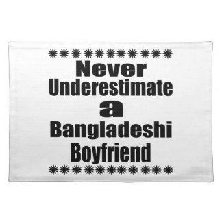 Never Underestimate A Bangladeshi Boyfriend Placemat