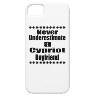 Never Underestimate A Cypriot Boyfriend iPhone 5 Cover
