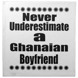 Never Underestimate A Ghanaian Boyfriend Cloth Napkin