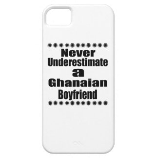 Never Underestimate A Ghanaian Boyfriend iPhone 5 Cover