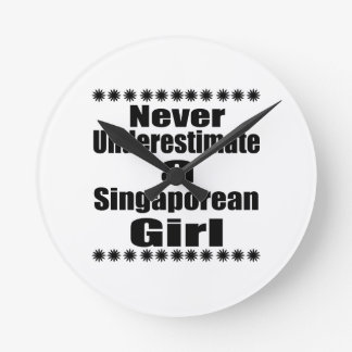 Never Underestimate A Singaporean Girlfriend Clocks