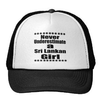 Never Underestimate A Sri Lankan Girlfriend Trucker Hat