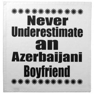 Never Underestimate An Azerbaijani Boyfriend Napkin