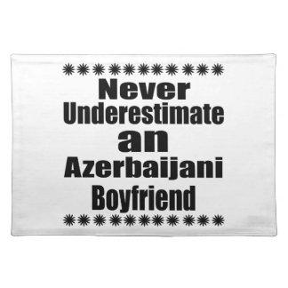 Never Underestimate An Azerbaijani Boyfriend Placemat