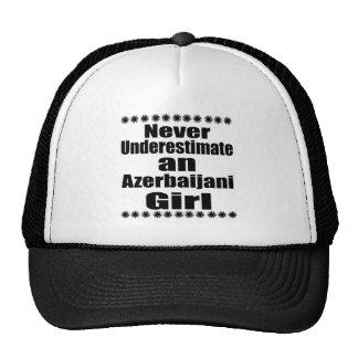 Never Underestimate An Azerbaijani Girl Trucker Hat