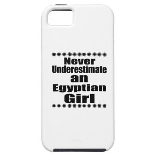 Never Underestimate An Egyptian Girl iPhone 5 Cover