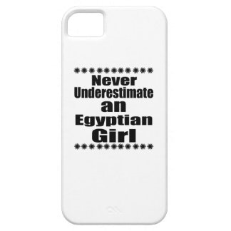 Never Underestimate An Egyptian Girl iPhone 5 Covers