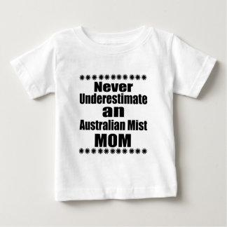 Never Underestimate Australian Mist Mom Baby T-Shirt