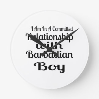 Never Underestimate Barbadian Daddy Wallclock