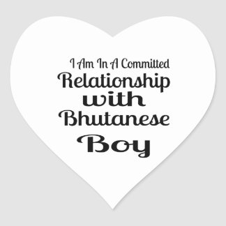 Never Underestimate Bhutanese  Daddy Heart Sticker