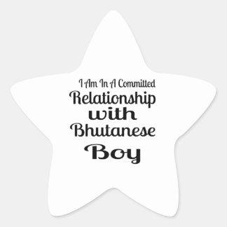 Never Underestimate Bhutanese  Daddy Star Sticker