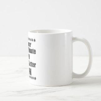 Never Underestimate English Setter  Mom Coffee Mug