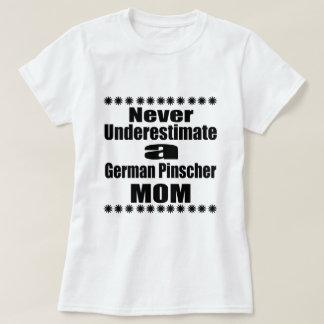 Never Underestimate German Pinscher Mom T-Shirt