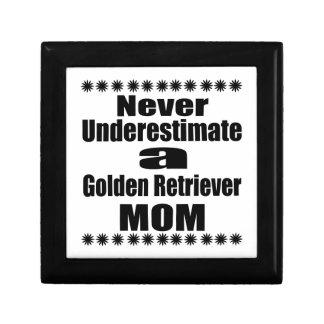 Never Underestimate Golden Retriever  Mom Gift Box