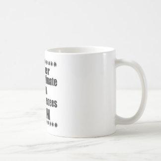 Never Underestimate Great Pyrenees Mom Coffee Mug