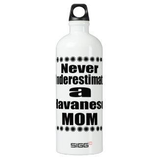 Never Underestimate Havanese Mom Water Bottle