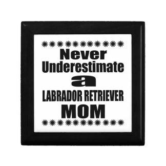 Never Underestimate LABRADOR RETRIEVER Mom Gift Box