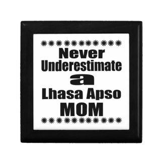 Never Underestimate Lhasa Apso  Mom Gift Box