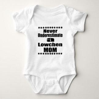 Never Underestimate Lowchen Mom Baby Bodysuit