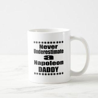 Never Underestimate Napoleon Daddy Coffee Mug