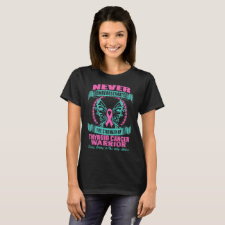 Never Underestimate Power Of A Women With Cane Cor T-Shirt