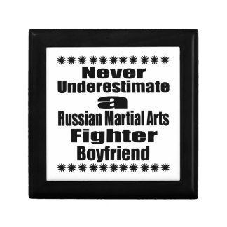 Never Underestimate  Russian Martial Arts Fighter Gift Boxes