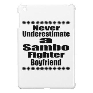 Never Underestimate  Sambo  Fighter Boyfriend iPad Mini Cover