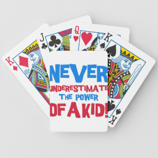 Never underestimate the power of a kid bicycle playing cards