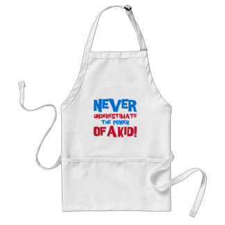 Never underestimate the power of a kid standard apron