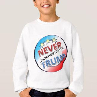 Never Underestimate Trump Sweatshirt
