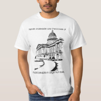 Never underestimate wt T-Shirt