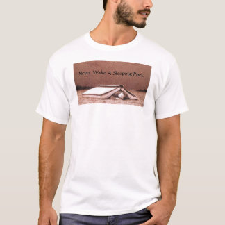 Never Wake A Sleeping Poet T-Shirt