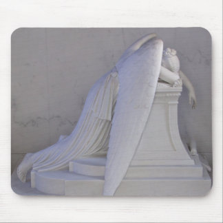 Never Weep Alone Angel Mousepad