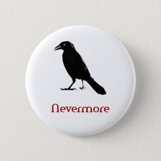 Nevermore 2 Inch Round Button