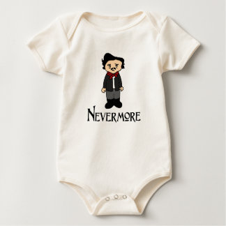 Nevermore Edgar Allan Poe The Raven baby shirt