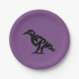 Nevermore Paper Plate