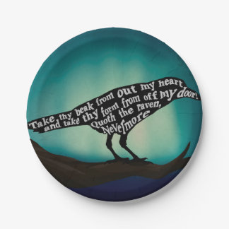 Nevermore Paper Plates