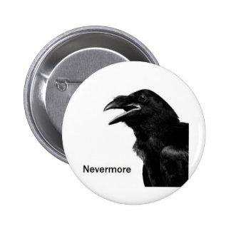 Nevermore Raven 2 Inch Round Button