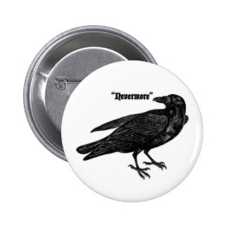 Nevermore Raven Pins