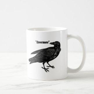 Nevermore Raven Classic White Coffee Mug
