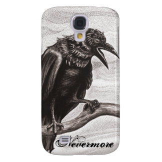 Nevermore Raven in the Mist Samsung Case
