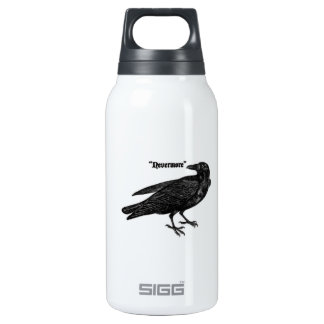 Nevermore Raven Insulated Water Bottle
