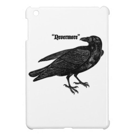 Nevermore Raven iPad Mini Case
