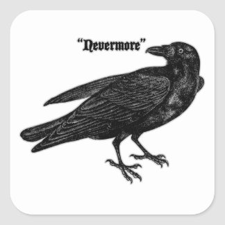 Nevermore Raven Stickers