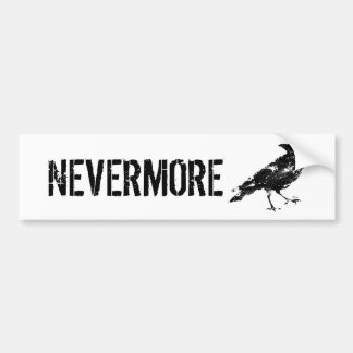 NEVERMORE STICKER BUMPER STICKER