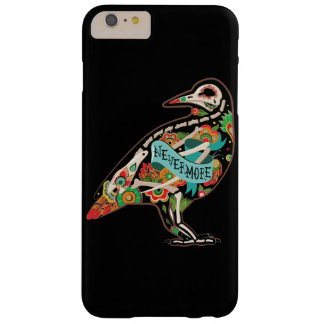 Nevermore Sugar Skull Raven Barely There iPhone 6 Plus Case