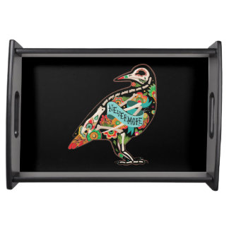 Nevermore Sugar Skull Raven Food Trays