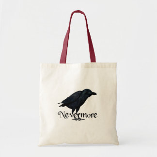 Nevermore - The Raven - E.A. Poe Tote Bag