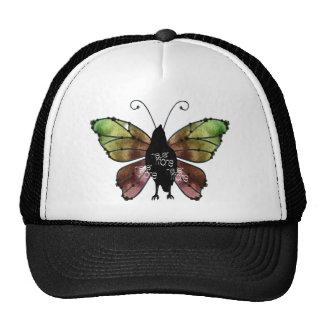 Nevermore x3 Butterfly Raven Trucker Hat